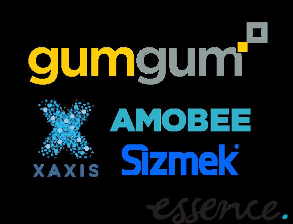 GumGum, Amobee, Xaxis, Haworth, Sizmek, Essence